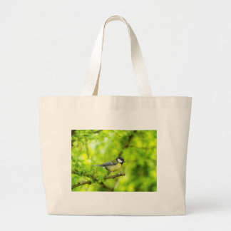 Grande mésange, commandant de parus grand tote bag
