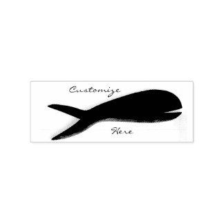 Grande natation de poissons de queue