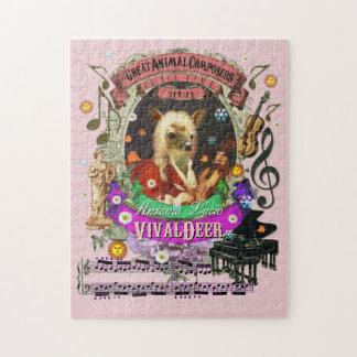 Grande parodie animale de Vivaldi de compositeur Puzzle