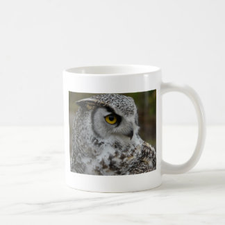 Grande photographie de hibou à cornes mug