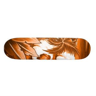 Grande planche à roulettes de vague skateboards customisés