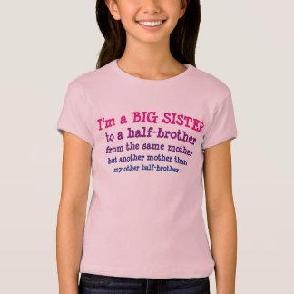 Grande soeur au demi-frère t-shirt