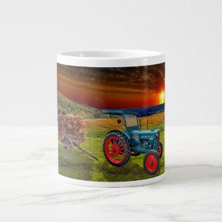 Grande Tasse Vieux tracteur