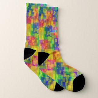 Grandes chaussettes colorées lumineuses