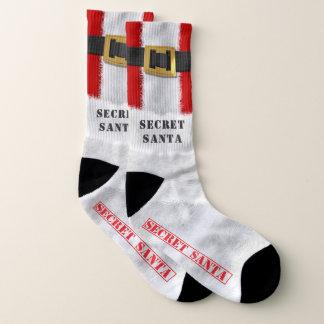 Grandes chaussettes secrètes de Père Noël