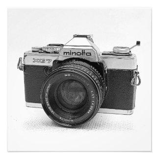 Grandes copie/affiche vintages d'appareil-photo ! impression photographique