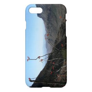 Grandes Courbure-Montagnes avec la fleur Coque iPhone 7