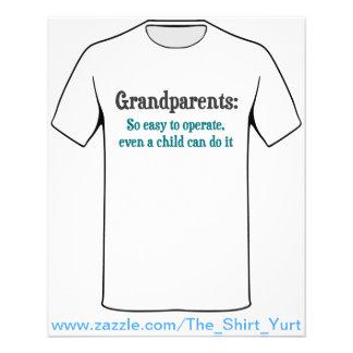 Grands-parents si faciles à utiliser prospectus 11,4 cm x 14,2 cm