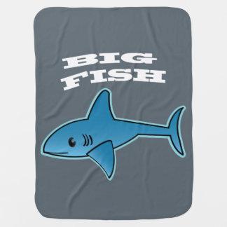 Grands poissons - couverture de bébé