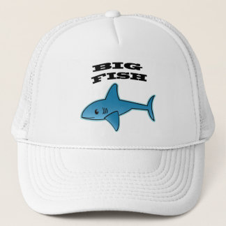 Grands poissons -  de casquette de camionneur