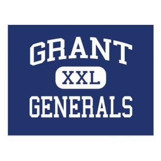 Grant - généraux - lycée - Portland Orégon Carte Postale