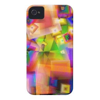 Graphique-art coloré étui iPhone 4