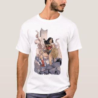 Graphique comique de la couverture #13 de femme de t-shirt