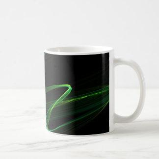 Graphique d'abrégé sur regard de malachite mug