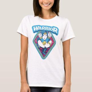 Graphique de guerrière de femme de merveille t-shirt