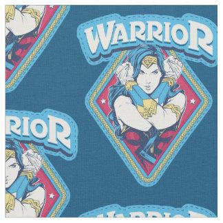 Graphique de guerrière de femme de merveille tissu