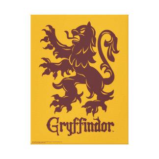 Graphique de lion de Harry Potter | Gryffindor Toile