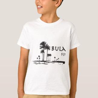 Graphique de palmier de Bula Fidji T-shirt