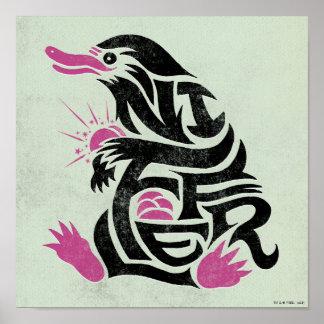 Graphique de typographie de Niffler