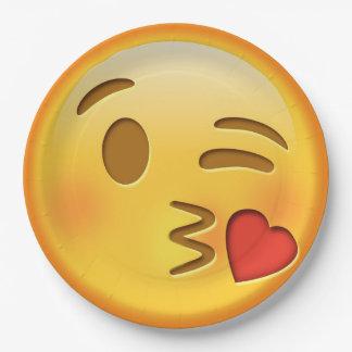 Grappig de kusdocument van emojismiley bord