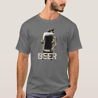 Grappig Grizzly & Bier T Shirt