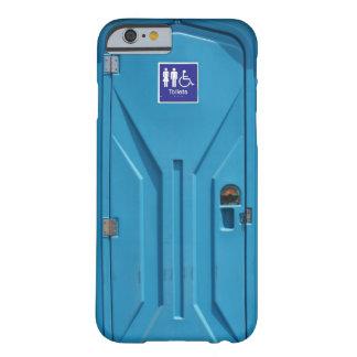 Grappig Openbaar Draagbaar Toilet Barely There iPhone 6 Hoesje