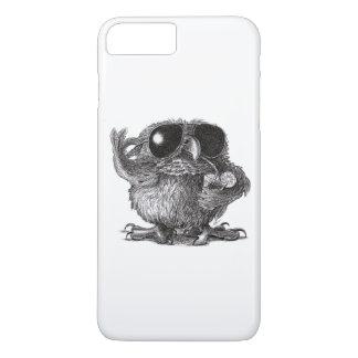 Grappige Dierlijke Koele Uil iPhone 8 Plus / 7 Plus Hoesje
