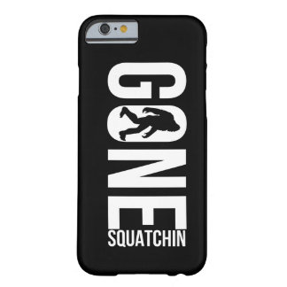 Grappige Gegaane Squatchin Barely There iPhone 6 Hoesje