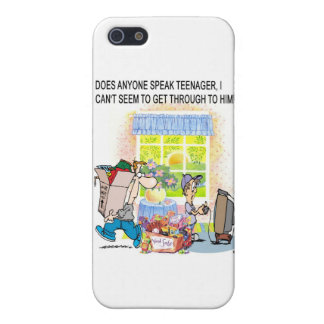 grappige giften iPhone 5 cover