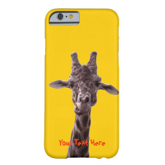 Grappige Giraf Barely There iPhone 6 Hoesje