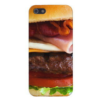 Grappige grote hamburger iPhone 5 cases