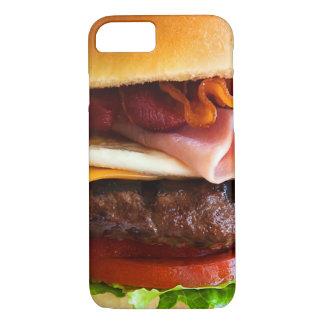 Grappige grote hamburger iPhone 7 hoesje