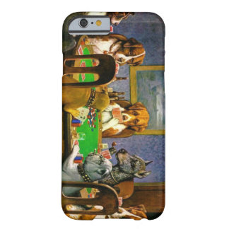 Grappige Honden die het Geval van de Pook spelen Barely There iPhone 6 Case