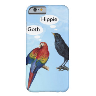 Grappige iPhone 6 van de Hippie van de gothic hoes Barely There iPhone 6 Hoesje