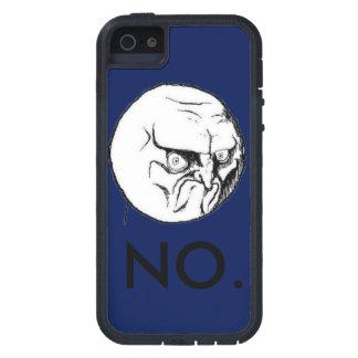 """Grappige Marine unisex- """"nr!"""" meme Tough Xtreme iPhone 5 Hoesje"""