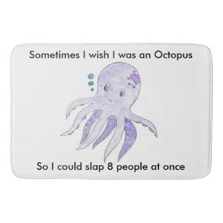 Grappige Octopus in de badkamers Badmatten