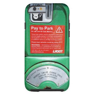 Grappige Parkeermeter Tough iPhone 6 Hoesje