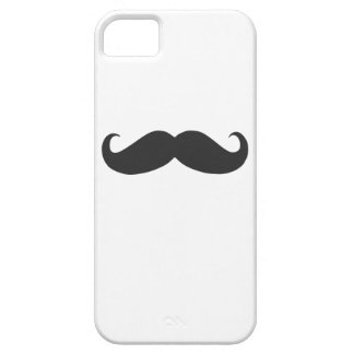 grappige snor Case-Mate iPhone 5 hoesje