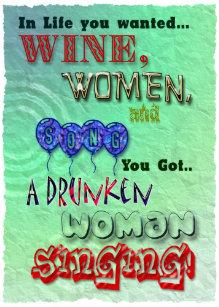 Wijn Vrouw Kaarten Zazzle Be