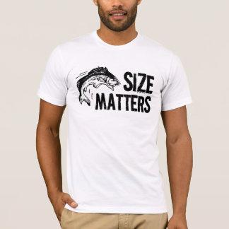 Grappige Visser - de Kwesties van de Grootte! T Shirt
