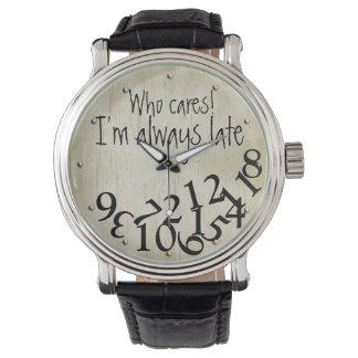 Grappige Who Zorgen, ben ik altijd het Recente Horloges