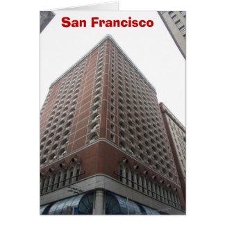 Gratte-ciel de San Francisco Carte