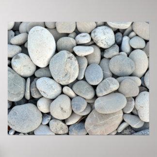 gravier en pierre rond de nature de minerais de ro