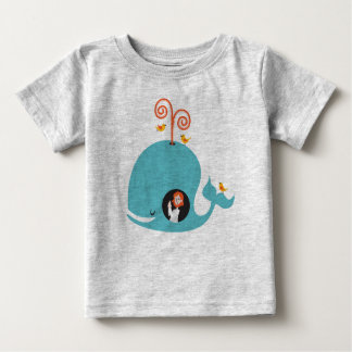 Gray Kids Shirt Bible Story Jonah And The Whale