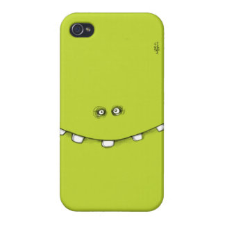 Green phone iPhone 4/4S hoesje