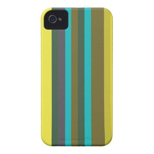 Green_stripes Étuis iPhone 4