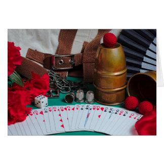 GreetingCard : La retraite du magicien Carte De Vœux