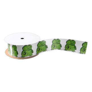Grenouille Frog Ruban En Satin