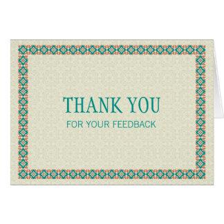 Grenzen & Patronen 3 danken u voor Uw Briefkaarten 0