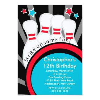 Grève vers le haut d'invitation de fête carton d'invitation  12,7 cm x 17,78 cm